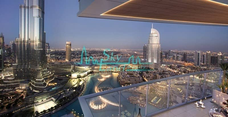 58th Floor|4-BR Apartment in Opera Grand|Downtown View