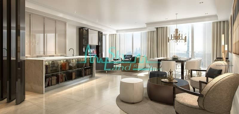 2 58th Floor|4-BR Apartment in Opera Grand|Downtown View