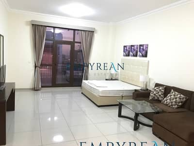 Studio for Rent in Arjan, Dubai - NORTH SIDE|LARGE FURNISHED STUDIO| WITH BALCONY|NEAR ARJAN CITY CENTRE