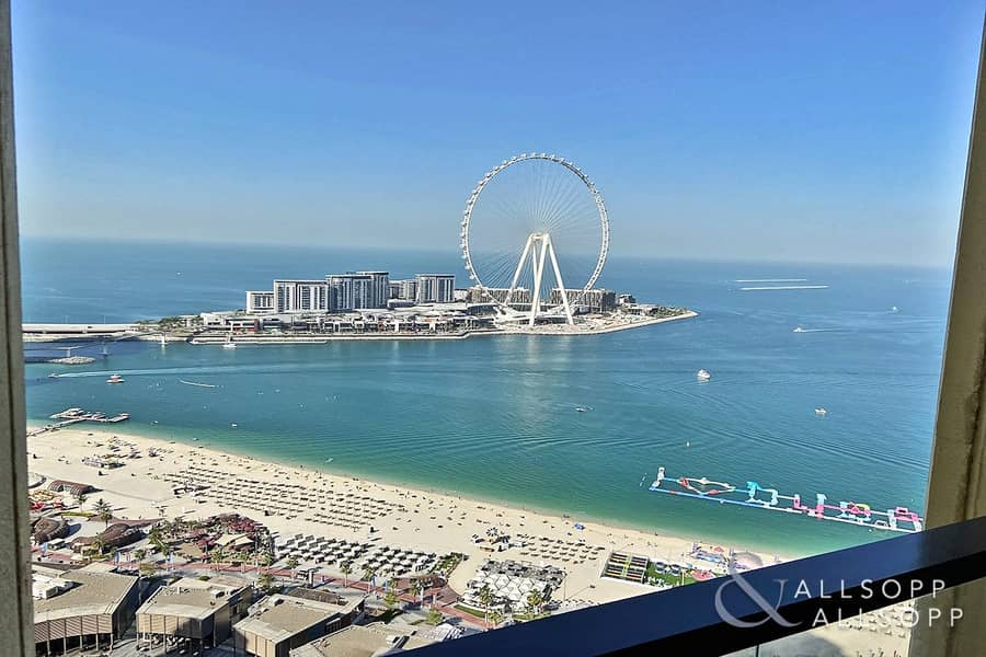 Full Views   Vacant   3 Balconies   3 Bed