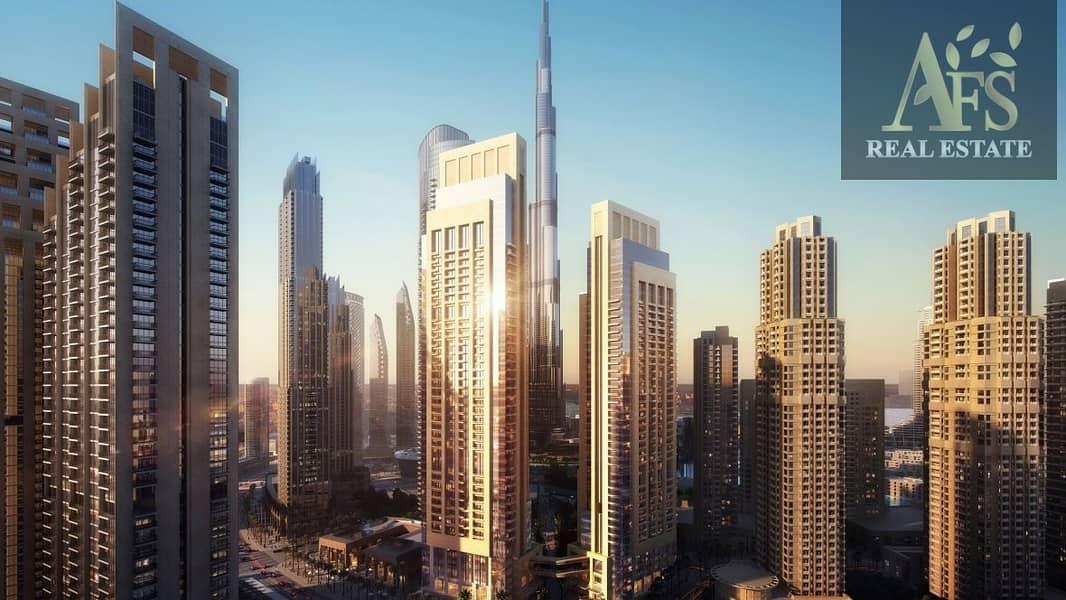 2 Mesmerizing View of Burj Khalifa | 1 bedroom  |