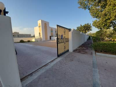 Mulhaq ! Luxury 3 Bedrooms Small Hall and Huge Front Private Yard with Terrace at Al Shamkha