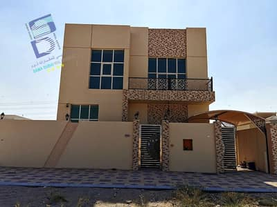 5 Bedroom Villa for Rent in Al Yasmeen, Ajman - Villa for rent, super deluxe finishing, excellent first inhabitant of Jasmine, in front of Rahmaniyah, at an affordable price