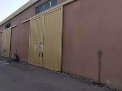 Warehouse for Rent in Al Jurf, Ajman - WAREHOUSE FOR RENT IN AJMAN INDUSTRIAL AREA