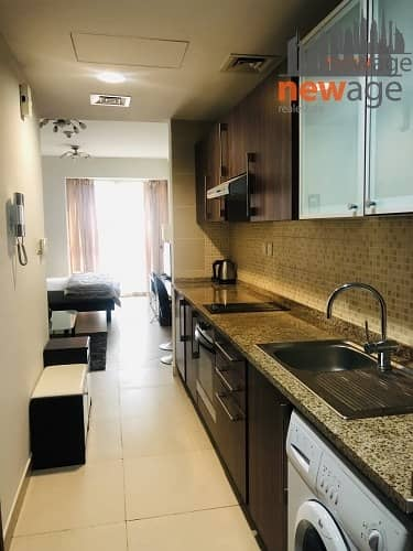 2 Fully Furnished Studio Apt.For RENT in Goldcrest Executive JLT