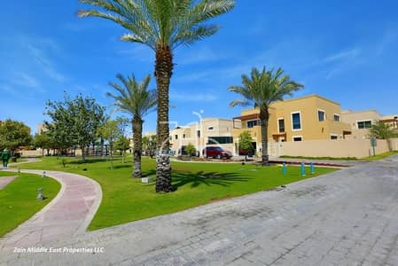 4 Bedroom Townhouse for Sale in Al Raha Gardens, Abu Dhabi - Corner Single Row Vacant Type S in Great Location