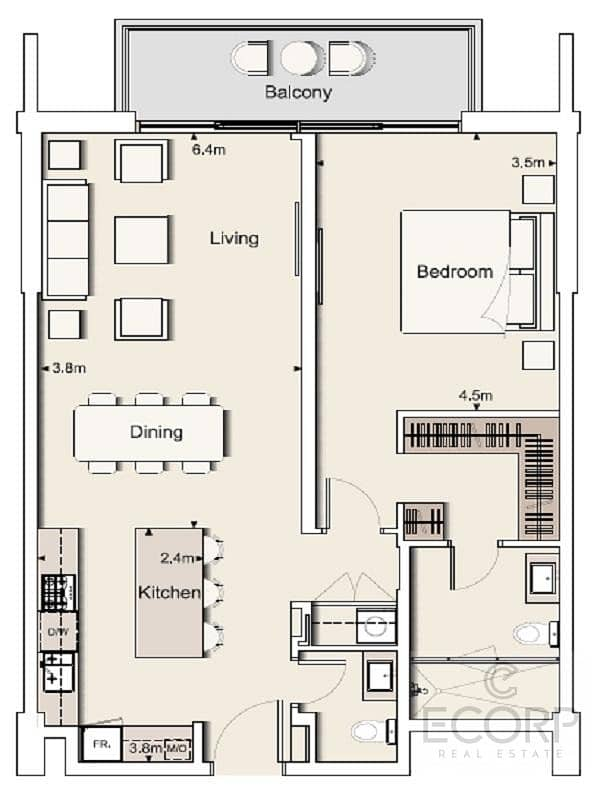11 Chiller Free | Spacious Layout | Near Park
