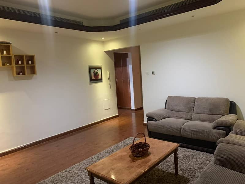 URGENT FOR SALE !!! SPACIOUS AND WELL MAINTAINED 1BHK IN CORNICHE TOWER AJMAN FULL OPEN VIEW