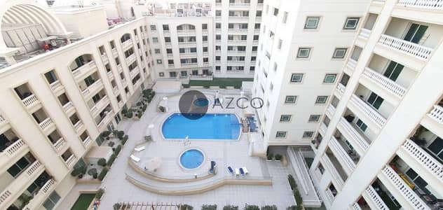 1 Bedroom Apartment for Rent in Jumeirah Village Circle (JVC), Dubai - POOL VIEW |HUGE APARTMENT |2 BALCONIES |CALL NOW