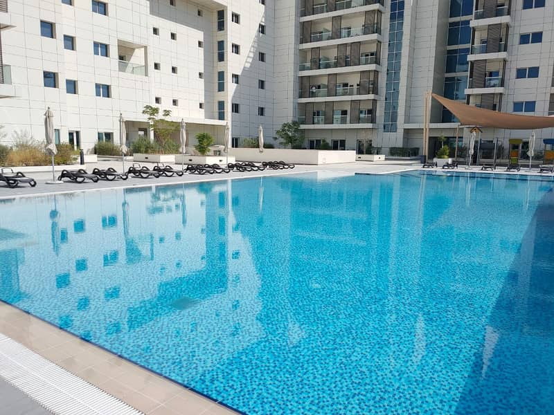 European Community Fully Furnished Studio With Pool And Gym For Rent Masdar City