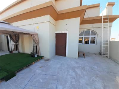 Studio for Rent in Mohammed Bin Zayed City, Abu Dhabi - Private Roof Studio with Amazing Compound View and Big Rooftop Balcony