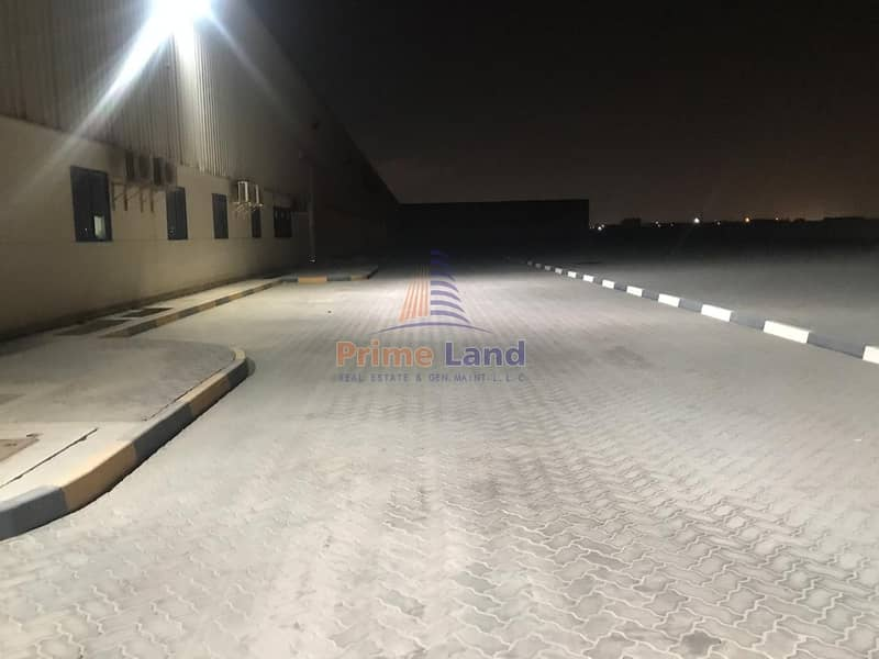 Factory Land for Sale With Covered Warehouse