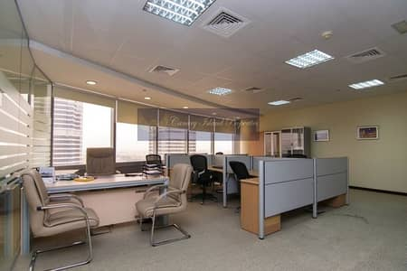 Office for Sale in Jumeirah Lake Towers (JLT), Dubai - Exclusive/ Fully Furnished/ Gold Tower