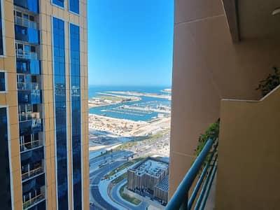 1 Bedroom Flat for Rent in Dubai Marina, Dubai - Marina View | Balcony |High Floor | Wardrobes