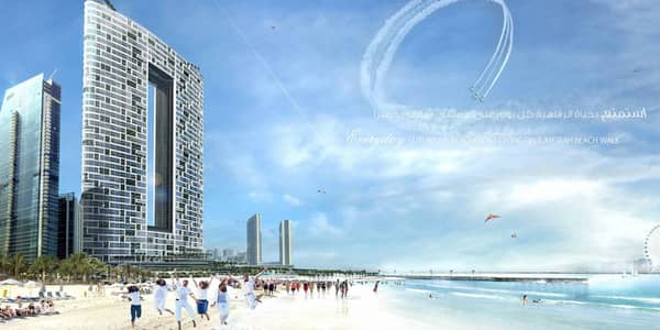 2 Bedroom Hotel Apartment for Sale in Jumeirah Beach Residence (JBR), Dubai - Full sea view 2 beds at higher floor for sales