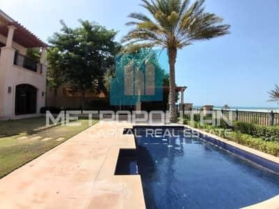 4 Bedroom Villa for Rent in Saadiyat Island, Abu Dhabi - Stunning Sea View |Private Garden| Beach Access