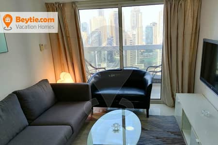 2 Bedroom Apartment for Rent in Jumeirah Lake Towers (JLT), Dubai - A Big Fully Furnished 2BR in Dubai Gate One