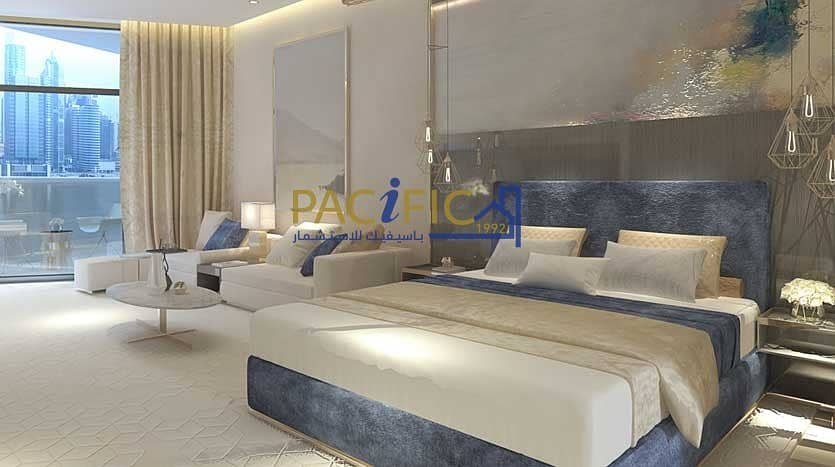 Price with 25% Discount  | Canal View + Burj Khalifa