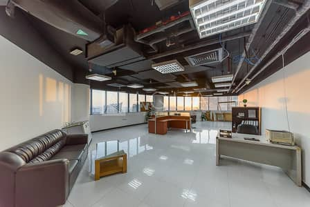 Office for Rent in Business Bay, Dubai - Fitted Office | Lake View | Pantry Available