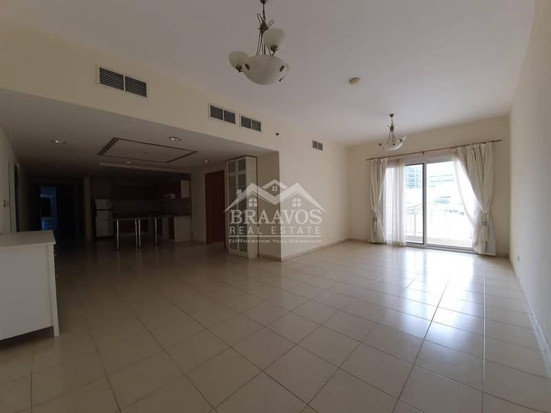 2 Large 1B/R | Open Plan Kitchen and Living Area
