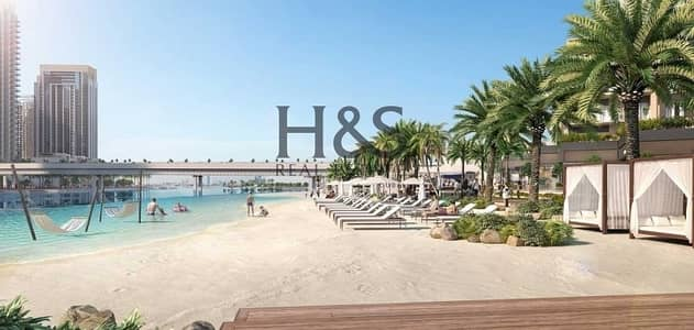 3 Bedroom Flat for Sale in The Lagoons, Dubai - Beachfront Living I Spacious 3 Beds @ Creek Beach