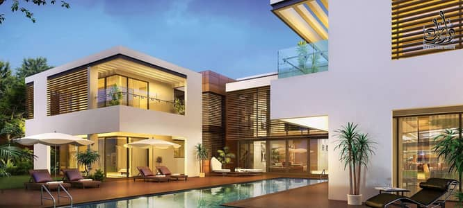 Villa for sale in Mohammed bin Rashid City / Sobha Hartland in the square / 10% down payment and installments