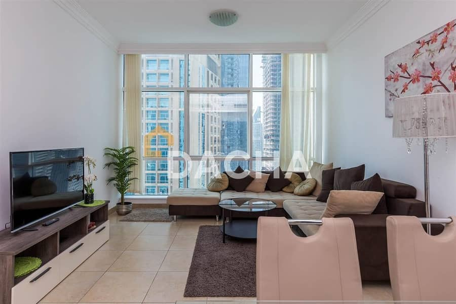 2 Fully furnished 1 BR / Marina view