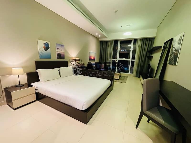 شقة في برج باي شارع الكورنيش 60000 درهم - 4495753