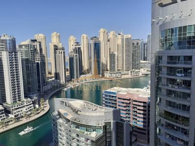 2 Bedroom Flat for Rent in Dubai Marina, Dubai - Chiller Free | Marina View | Unfurnished