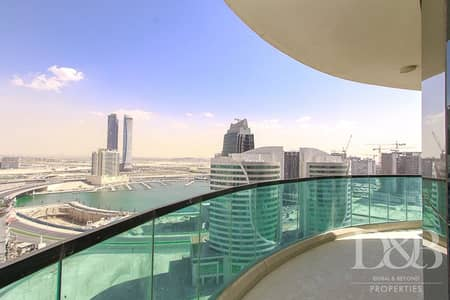 3 Bedroom Flat for Sale in Downtown Dubai, Dubai - High Floor | Panoramic Canal View | Maids Room