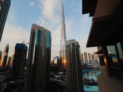 Burj Fountain View Amazing 2 BR    Mid Floor