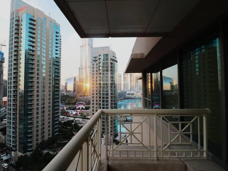 2 Burj Fountain View Amazing 2 BR    Mid Floor