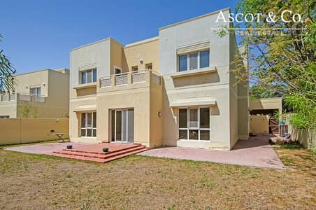 5 Bedroom Villa for Rent in The Meadows, Dubai - 5 Bed + M | Back to Back | Available Feb