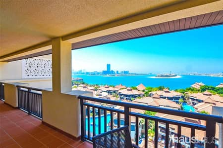 2 Bedroom Hotel Apartment for Rent in Palm Jumeirah, Dubai - Community Expert | Sunset View | Never Rented