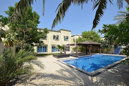 3 Bedroom Villa for Rent in Jumeirah Park, Dubai - One Of a Kind| Upgraded|AMC| Pool| Near Park