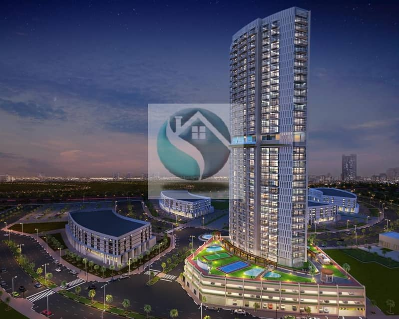 FANTASTIC || Miracle Garden VIEW || Furnished Studio 1% monthly payment plan 400K ARJAN