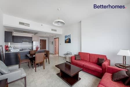 شقة 1 غرفة نوم للايجار في مثلث قرية الجميرا (JVT)، دبي - Furnished | High Floor | Allocated Parking Space