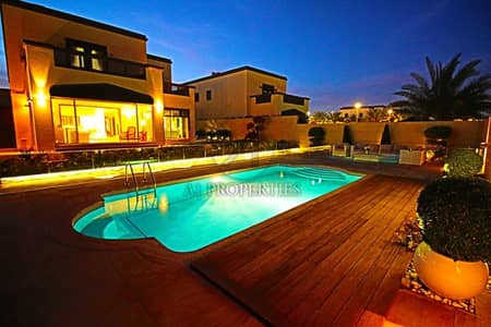 5 Bedroom Villa for Rent in Jumeirah Park, Dubai - Fully Upgraded   Furnished   Private Swimming Pool