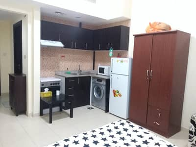 Studio for Rent in Dubai Silicon Oasis, Dubai - 2300 per month with balcony  fully furnished ready to move in Studio for rent in Silicon oasis