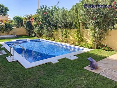 فیلا 5 غرف نوم للايجار في ذا فيلا، دبي - Mazaya A1 | with Private Pool | Maids Room