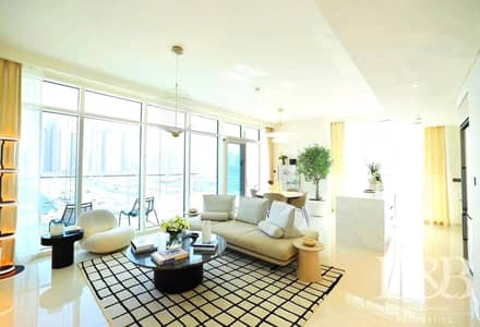 فلیٹ 3 غرف نوم للبيع في دبي هاربور، دبي - PRIVATE BEACH | LARGE LAYOUT | LUXURY LIVING