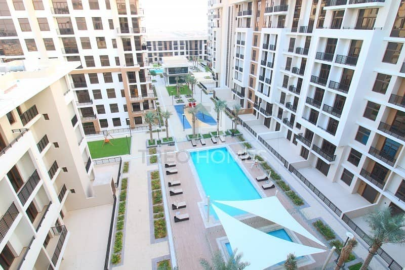 Pool view | High Floor | Ready to view