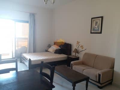 استوديو  للايجار في مدينة دبي الرياضية، دبي - Canal View Higher Floor Furnished Apartment