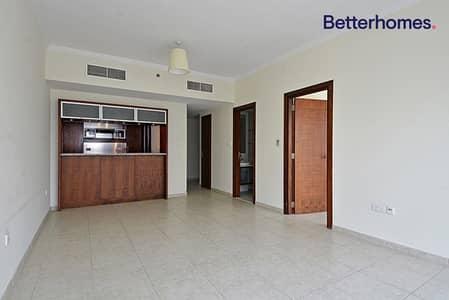 شقة 1 غرفة نوم للايجار في دبي مارينا، دبي - Vacant soon| Unfurnished| Marina View| No Balcony