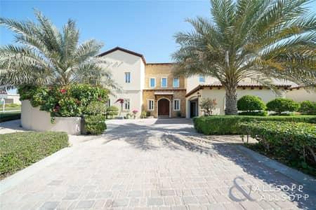 فیلا 4 غرف نوم للبيع في عقارات جميرا للجولف، دبي - Exclusive - Giovanni Type - Large Plot