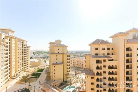 شقة 2 غرفة نوم للايجار في عقارات جميرا للجولف، دبي - Two Beds | High Floor | Golf Course Facing