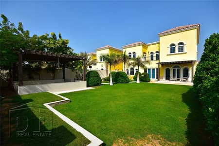 3 Bedroom Villa for Rent in Jumeirah Park, Dubai - Fully Furnished|Available Now|Single Row