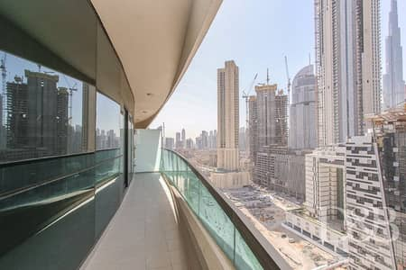 Partial Burj View | Large Balcony | Furnished