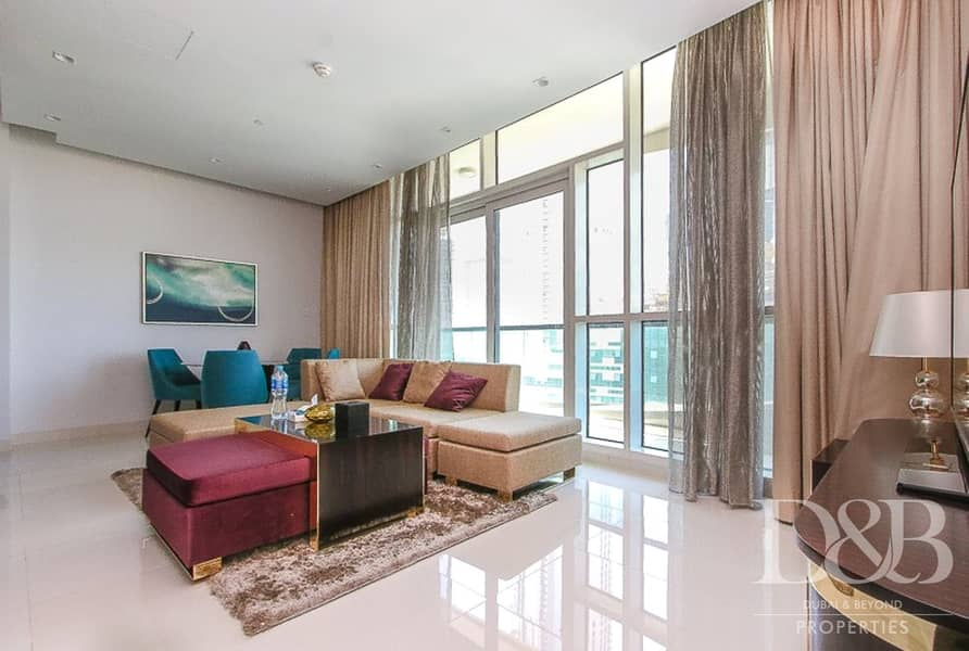 2 Partial Burj View | Large Balcony | Furnished