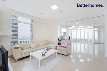 شقة 4 غرف نوم للبيع في دبي مارينا، دبي - Sea View| High Floor| Unfurnished| Vacant |+Maid's